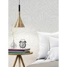 f94eab22426db Papier peint vinyle sur intissé AURA Palme Design Beige - GRAHAM   BROWN.  Habitaciones Con Papel PintadoParedes ...
