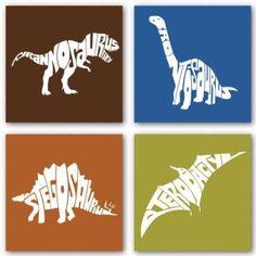 Dinosaur Prints love love love @Nathan Mallonee Mallonee Santos Cerasani