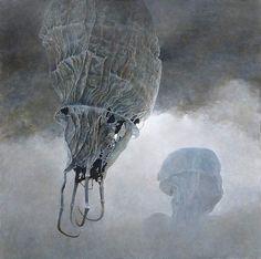 #painting #surrealism / Zdzislaw Beksinski