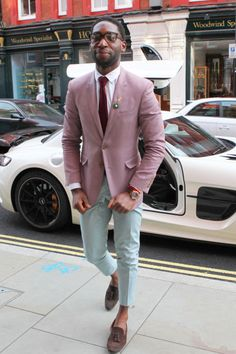 Update your spring wardrobe with a little help from Tinie Tempah.
