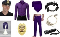 Purple Man from Five Nights at Freddy's Costume