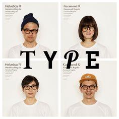 Type Eyewear Turns Fonts into Frames | Spoon & Tamago