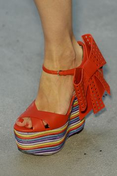 shoes @ L'Wren Scott Spring 2014