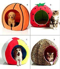 OOP Pet Beds Round Circular Ball Shape Butterick Sewing Pattern 4949 Dog Cat #Butterick