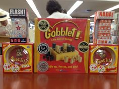 Gobblet by BlueOrange. A fun strategy game for all ages.
