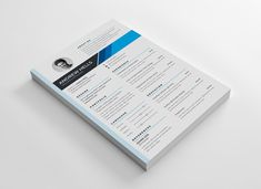 The perfect way to make the best impression. Strong typographic structure and very easy to use and customize. The resume design Resume Design Template, Creative Resume Templates, Cv Template, Print Templates, Design Resume, Design Templates, Letterhead Design, Letterhead Template, Cover Letter For Resume