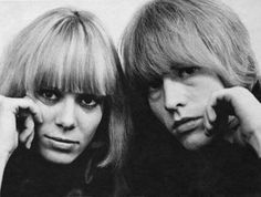 and Marianne Faithfull Leo Gregory as Brian Jones and Monet Mazur as Anita Pallenberg in Stephen Woolley's biopic Stoned about the life and death of Brian Jones. Anita Pallenberg, Mick Jagger, Ibiza, Brian Jones Rolling Stones, Rollin Stones, Marianne Faithfull, British Rock, Italian Actress, Living Legends