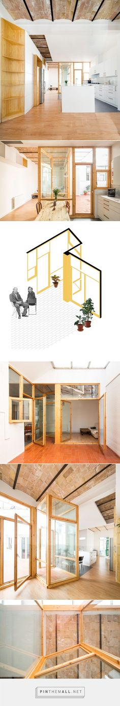 Apartment and Courtyard in Barcelona  / CAVAA arquitectes | ArchDaily - created via http://pinthemall.net