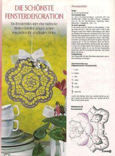 Lea Sonderheft - LA 615 Dekorative - Lea (Вязание спицами и крючком) - Журналы по рукоделию - Страна рукоделия Crochet Snowflake Pattern, Crochet Snowflakes, Crochet Art, Crochet Patterns, Mandala Floral, Different Stitches, Crochet Ornaments, Doilies, Dream Catcher
