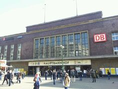 Düsseldorf Hauptbahnhof in Düsseldorf, Nordrhein-Westfalen  Meine Geburtsstadt...my birthplace :)