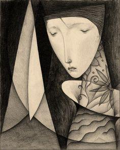 Curtain of the darkness | by Gustav Klim