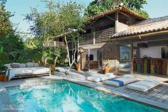 Casa no sul da Bahia emprega parede de pau a pique - Casa