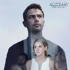 After the earth-shattering revelations of INSURGENT, in ALLEGIANT Tris [Shailene Woodley] must escape with Four [Theo James] beyond the wall that encircles Chicago to finally discover the shocking. Divergent Fandom, Divergent Trilogy, Divergent Funny, Tris And Four, In Theaters Now, Divergent Insurgent Allegiant, Shailene Woodley, Theo James, 2 Movie