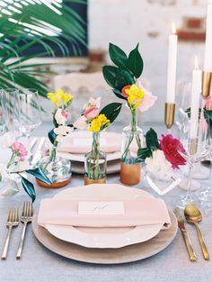 Photography: http://abbyjiu.com | Event design and planning: http://www.cheersdarlingevents.com | Floral design: http://framptonsflowers.com/ | Wedding venue: http://thecedarroom.com | Read More: https://www.stylemepretty.com/vault/image/6136133