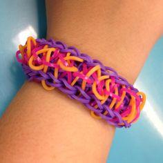 A funky bandaloom bracelet!