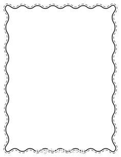 free black wavy border templates including printable border paper and clip art versions file formats include gif jpg pdf and png