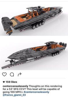 Speed Boats, Power Boats, Drag Boat Racing, Center Console Fishing Boats, Hors Route, Rib Boat, Sport Fishing Boats, Sports Nautiques, Bay Boats