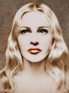 Portrait of Madonna Lady Madonna, Madonna Art, Divas, Portrait, Silver, Female Singers, Headshot Photography, Portrait Paintings, Drawings