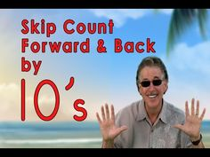 Skip Counting Forward and Back by 10's | Count to 100 | Counting Songs | Jack Hartmann - YouTube