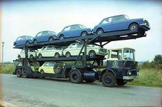 . Trailers, Car Trailer, Benne, Car Carrier, Racing Team, Old Cars, Race Cars, Transportation, Automobile