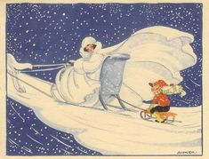 Snow Queen Anker 1948 by hagerstenguy, via Flickr