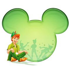 Natalie McCurdy uploaded this image to 'Tshirt Designs/Disney Character Designs/Peter Pan'. See the album on Photobucket. Disney Fanatic, Disney Addict, Disney Cartoon Characters, Disney Cartoons, Disney Ears, Disney Mickey, Disney Love, Disney Magic, Silhouette Mickey