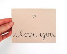 i love you calligraphy - Google Search