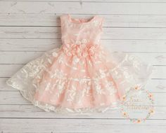 Hey, I found this really awesome Etsy listing at https://www.etsy.com/listing/240640595/pink-dress-lace-flower-girl-dress-girls
