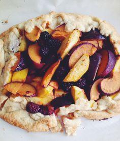 D.M.R. Fine Foods: {Savor the Season}: Summer Fruit Crostata