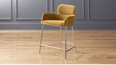 "Azalea Champagne 24"" Counter Stool 