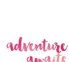 Adventure Awaits by owlHouseINK Adventure Awaits, Shopping, Design, Design Comics