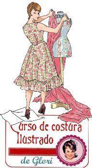 curso de costura para novatas Fashion Sewing, Fashion Fabric, Retro Fashion, Womens Fashion, Sewing Clothes, Diy Clothes, Sewing Hacks, Sewing Tutorials, Blouse Patterns