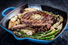 Check out this easy to prepare garlic-sage grill topper that adds a sweet and savory punch to any steak meal. Steak Recipes, Wine Recipes, Steak Toppings, Easy Meals, Cowboy Ribeye, Garlic, Steaks, Mushroom, Sauces