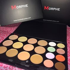 Morphe Concealer & Correcting Palette Brand new never used. In box. 20 color concealer and correcting palette. Price is firm REMEMBER POSH TAKES THEIR 20%! No trades. Morphe Makeup Concealer