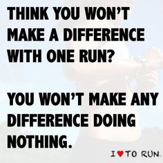 You won't make any difference doing nothing.