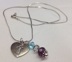 Dainty Handcrafted  Simple  Swarovski by SnowflakeEclecticArt