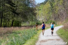 Escape sidewalks and crosswalks on our favorite #Atlanta #running trails, all within 20 miles of the city