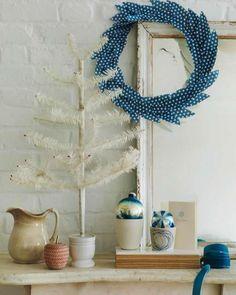 13 simple christmas wreaths