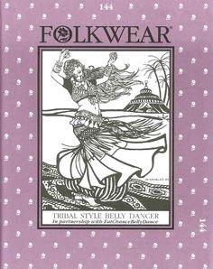 Folkwear 144, Tribal Belly Dancer. Man, I wish folkwear patterns weren't so expensive.