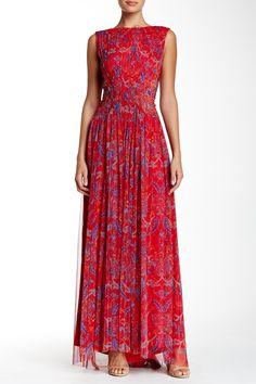 Tadashi Shoji | Embellished Print Gown | Nordstrom Rack