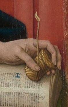 L'Annonciation de Hans Memling ca 1465 (au MET)