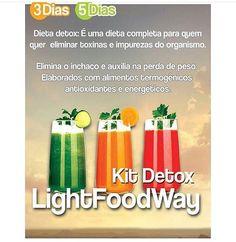 Comece a semana com foco  Na semana do carnaval elimine o inchaço e os quilinhos extras com nossa dieta Detox.  Conheça nossa linha de produtos Detox e kit's para 1 3 ou 5 dias.  Ligue ( 17 ) 3222- 5632 ou Whatsapp 98223 8003 e peça.  #lightfoodway #delivery #refeições #saúde #vidasaudável #dietas #light #detox #suco #almoço #jantar #lanche #refeiçãocompleta #semglúten #lowcarb #sejalightfoodway #esseéocaminho    by lightfoodway