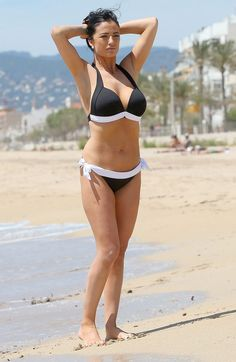 3f97652797 Bikini-clad Chantelle Houghton shows off dramatic weight loss on holiday