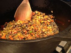 Tom's Kitchen: French Lentils, Delicious (and Easy) Dinner   Mother Jones
