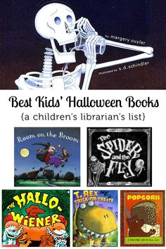 Best Halloween Books for Kids - Evie loves spooky things so this will be a year-round list :P