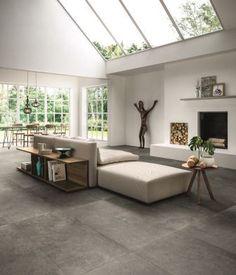 *Rustige donkere betonlook in 60x120, stijlvol! (15-MD), Tegelhuys