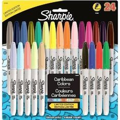 I want all sizes  color sharpies :) I love sharpies :D (love the periwinkle)
