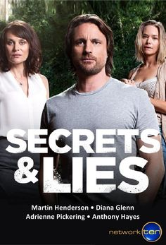 Secrets & Lies -From the image ,  I thought this would be very Desperate Housewives, instead it is  more like Dexter - Good Stuff!