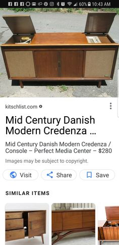 I want one of these with a record player.  Can find them on Facebook online yard sales for around $100.  Please just make sure the record player works with speakers built in.