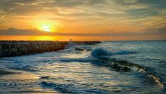 Cabrillo Beach - San Pedro, California (Sunrise)